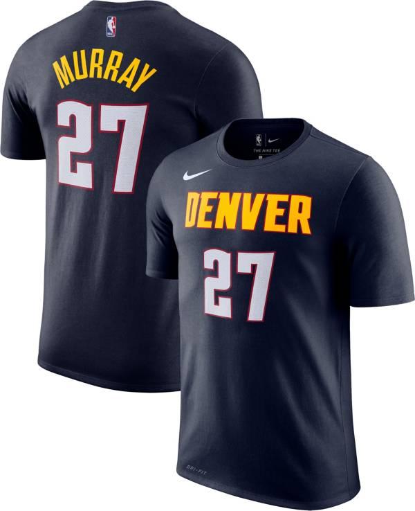Nike Men's Denver Nuggets Jamal Murray #27 Dri-FIT Navy T-Shirt product image