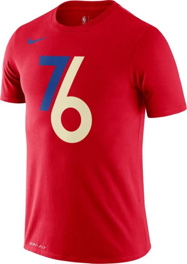 nike 76ers shirt