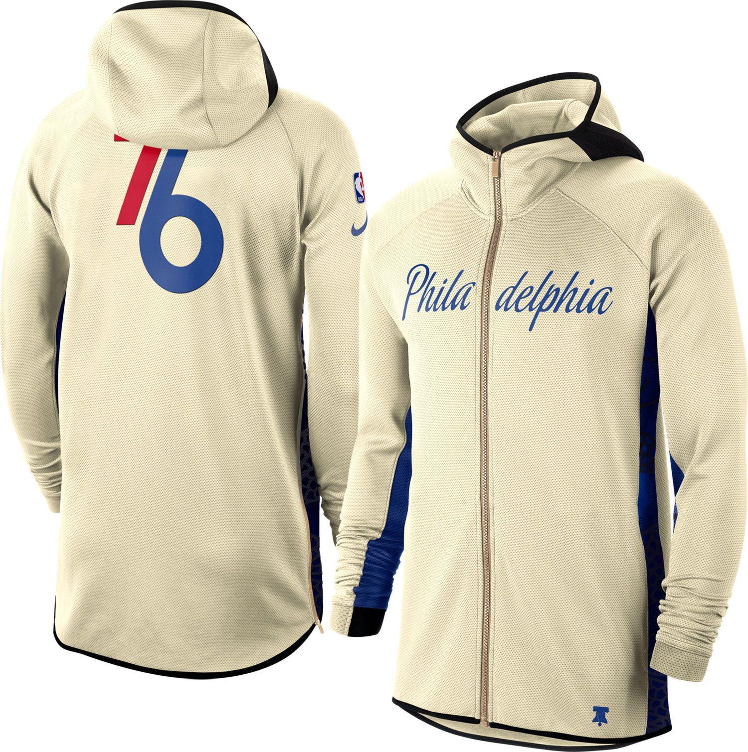 76ers therma flex hoodie