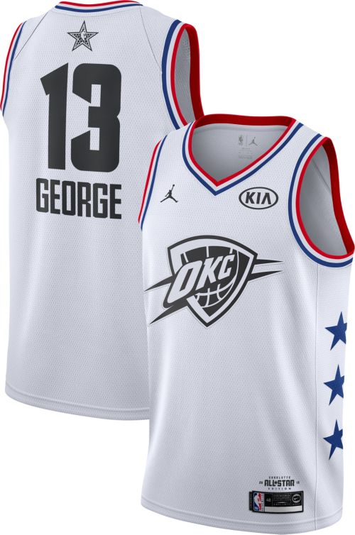d0ea667d7 Jordan Men s 2019 NBA All-Star Game Paul George White Dri-FIT Swingman  Jersey. noImageFound. Previous