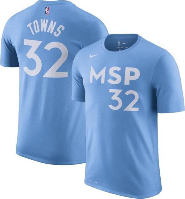 Nike Men's Minnesota Timberwolves Karl-Anthony Towns Dri-FIT City Edition T-Shirt product image