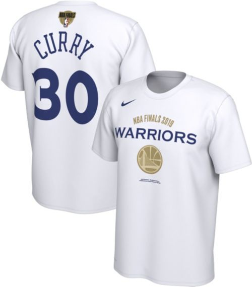 ec39d0c0 Nike Men's 2019 NBA Finals Golden State Warriors Steph Curry #30 Dri-FIT  Bench T-Shirt. noImageFound. Previous