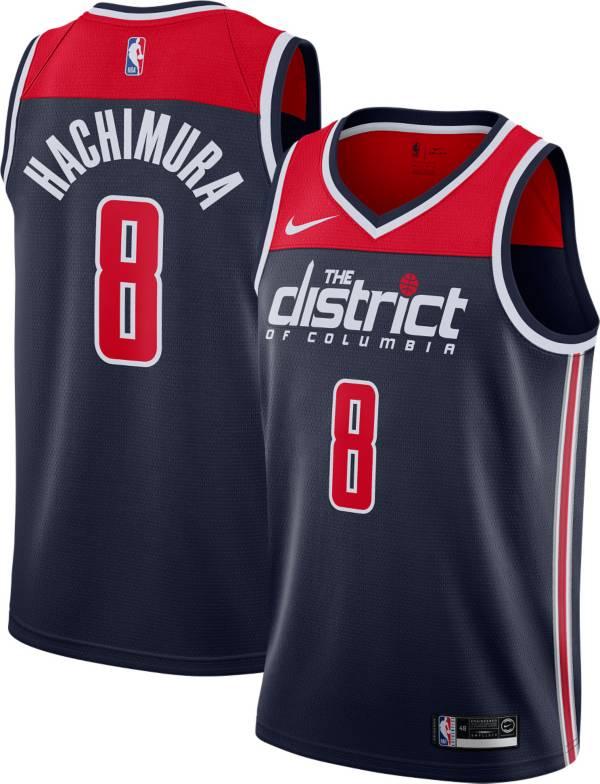 Nike Men's Washington Wizards Rui Hachimura #8 Navy Dri-FIT Swingman Jersey product image
