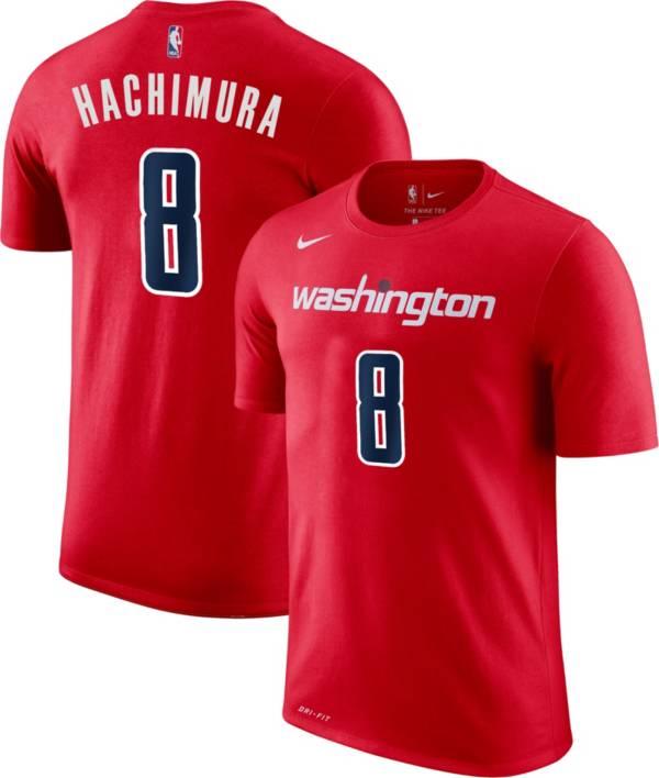 Nike Men's Washington Wizards Rui Hachimura #8 Dri-FIT Red T-Shirt product image