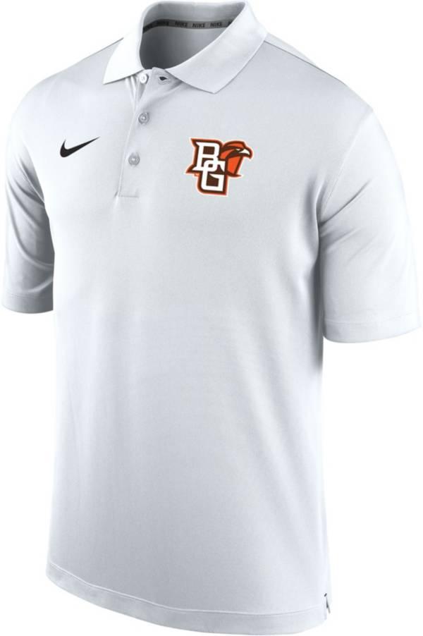 Nike Men's Bowling Green Falcons Varsity White Polo product image