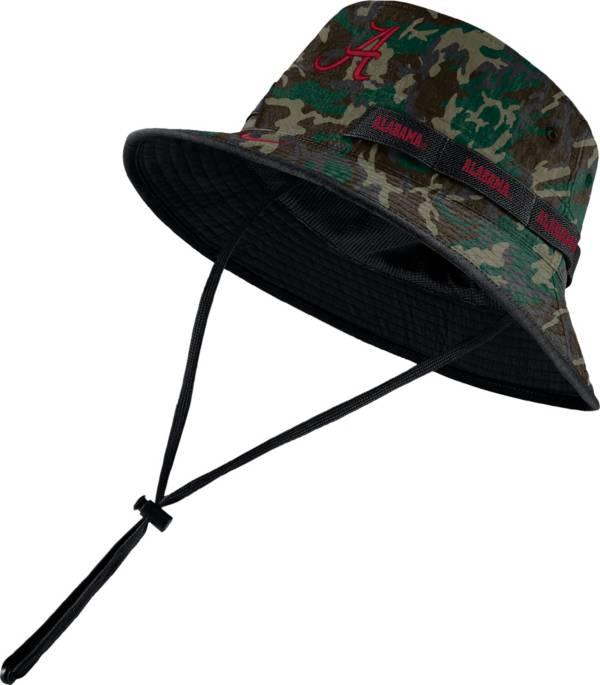 Nike Men's Alabama Crimson Tide Camo Dri-FIT Sideline Bucket Hat product image
