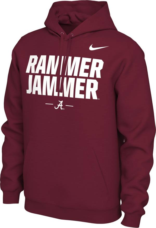 Nike Men's Alabama Crimson Tide Crimson 'Rammer Jammer' Local Pullover Hoodie product image