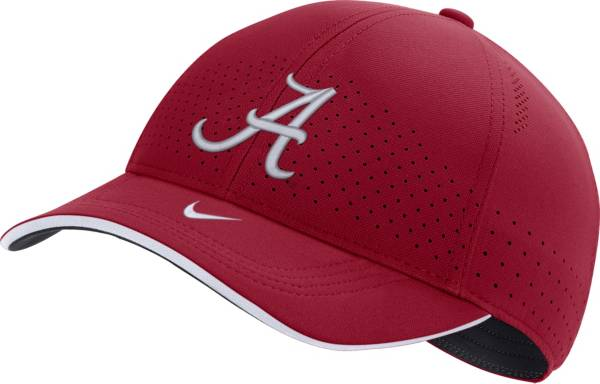 Nike Men's Alabama Crimson Tide Crimson AeroBill Classic99 Football Sideline Hat product image
