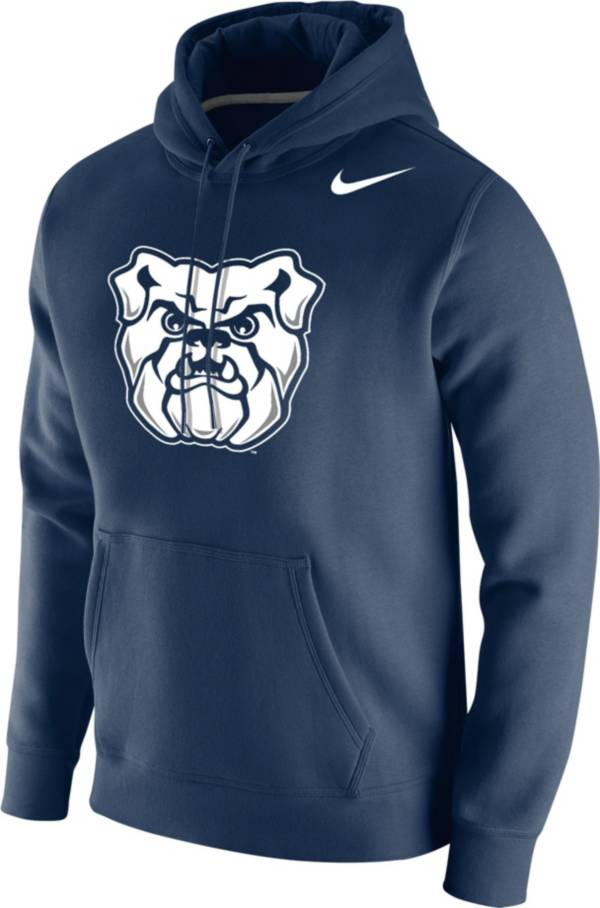 Nike Men's Butler Bulldogs Blue Club Fleece Pullover Hoodie product image