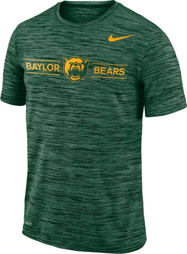 Nike Men's Baylor Bears Green Velocity Football T-Shirt product image