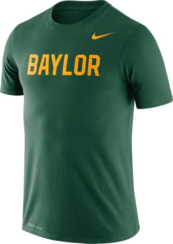 Nike Men's Baylor Bears Green Dri-FIT Legend Word T-Shirt product image
