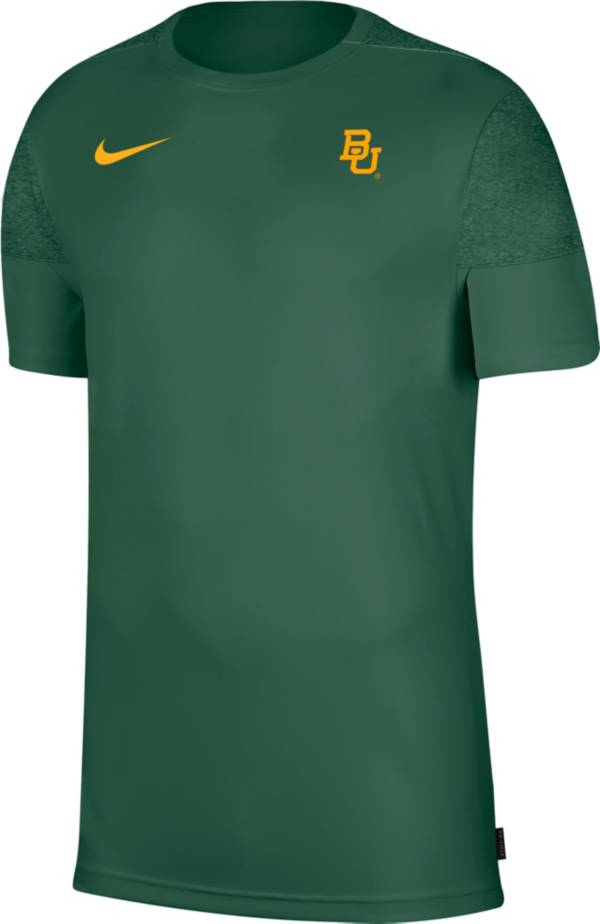 Nike Men's Baylor Bears Green Top Coach UV T-Shirt product image
