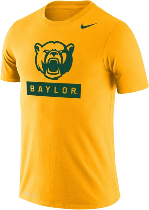73df29220cb7 Nike Men s Baylor Bears Gold Dri-FIT Cotton T-Shirt. noImageFound. 1