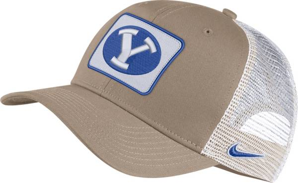 Nike Men's BYU Cougars Tan Classic99 Trucker Hat product image
