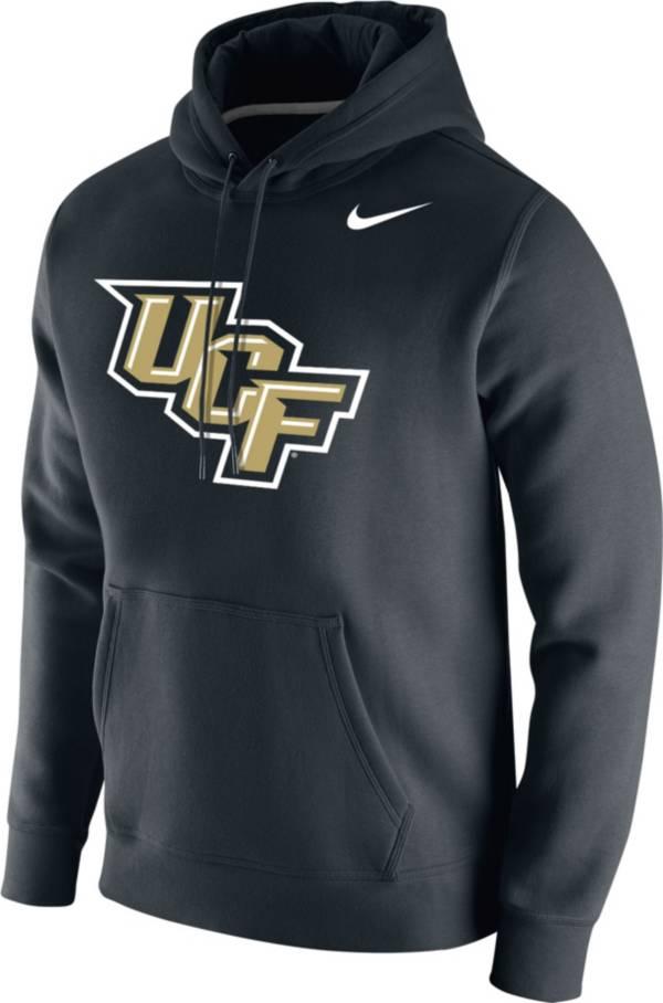 Nike Men's UCF Knights Club Fleece Pullover Black Hoodie product image