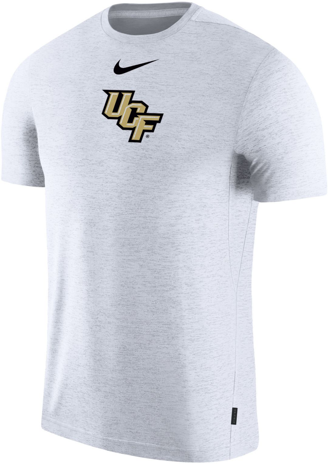 hot sale online be507 d1376 Nike Men's UCF Knights Dri-FIT Coach Football White T-Shirt