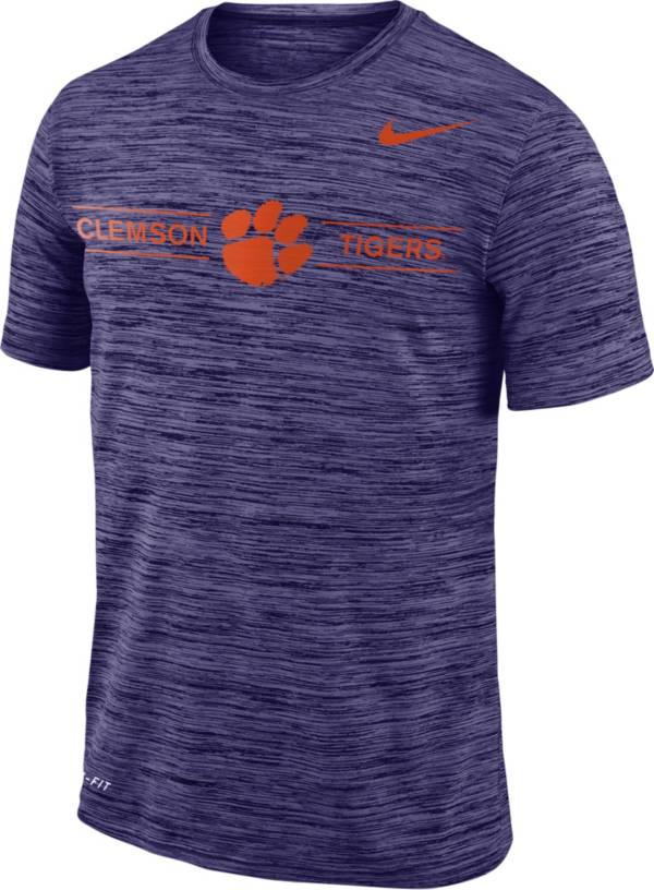 Nike Men's Clemson Tigers Regalia Velocity Football T-Shirt product image