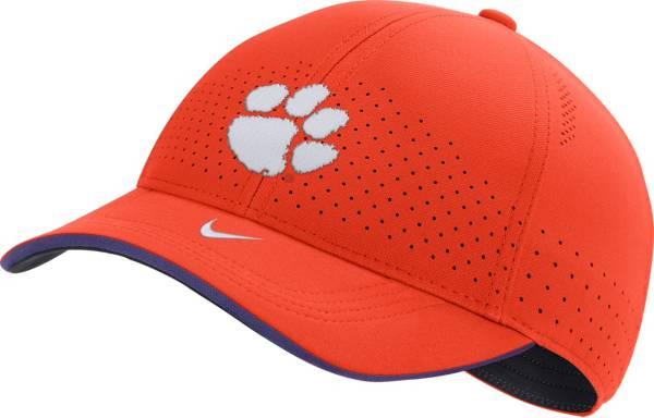 Nike Men's Clemson Tigers Orange AeroBill Classic99 Football Sideline Hat product image