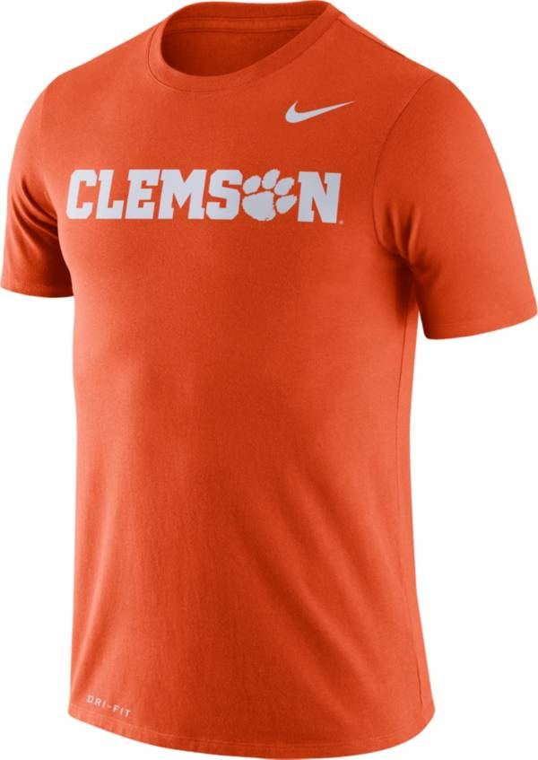 Nike Men's Clemson Tigers Orange Dri-FIT Legend Word T-Shirt product image