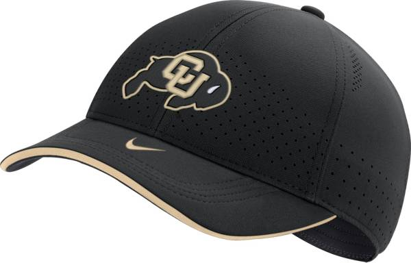 Nike Men's Colorado Buffaloes AeroBill Classic99 Football Sideline Black Hat product image