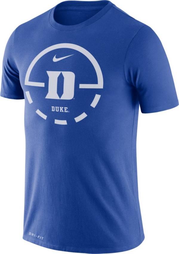Nike Men's Duke Blue Devils Duke Blue Legend Basketball Key T-Shirt product image