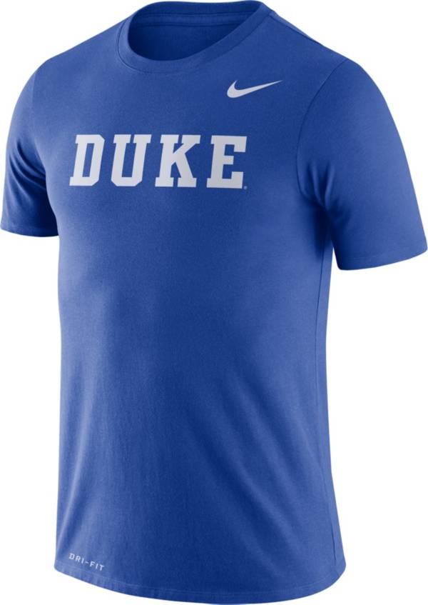 Nike Men's Duke Blue Devils Duke Blue Dri-FIT Legend Word T-Shirt product image