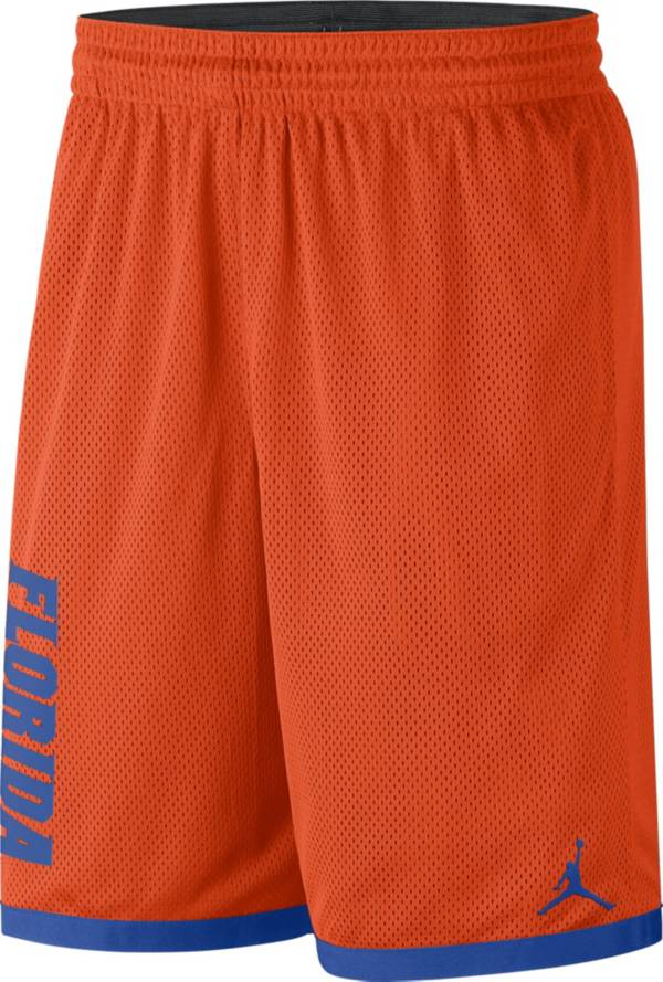 Jordan Men's Florida Gators Orange Dri-FIT Mesh Basketball Shorts product image