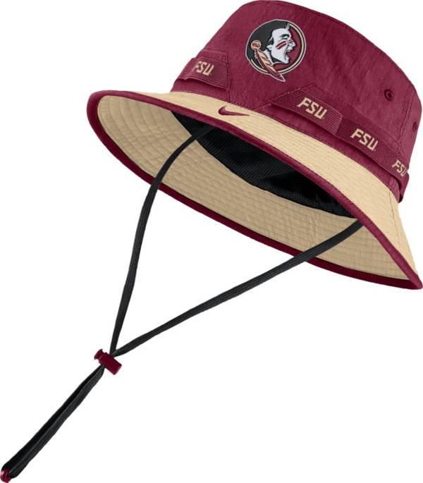 Nike Men's Florida State Seminoles Garnet Dri-FIT Sideline Bucket Hat product image