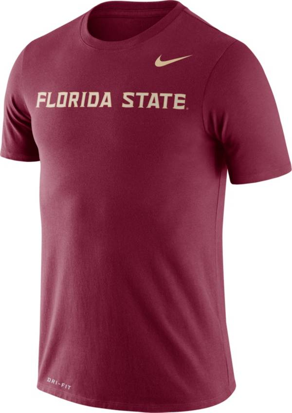Nike Men's Florida State Seminoles Garnet Dri-FIT Legend Word T-Shirt product image