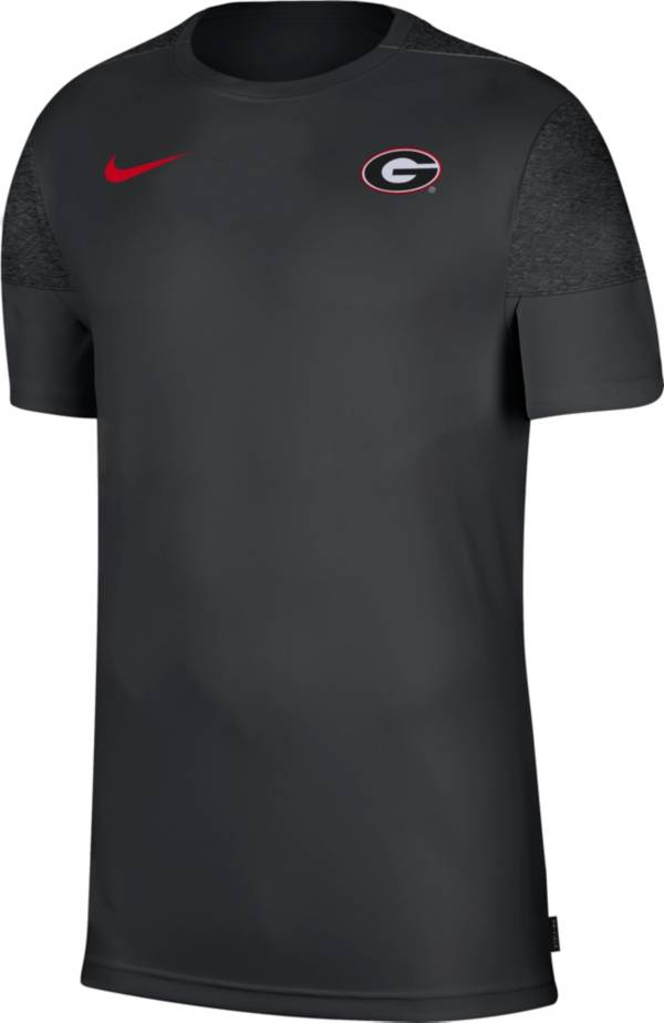 Nike Men's Georgia Bulldogs Top Coach UV Black T-Shirt product image