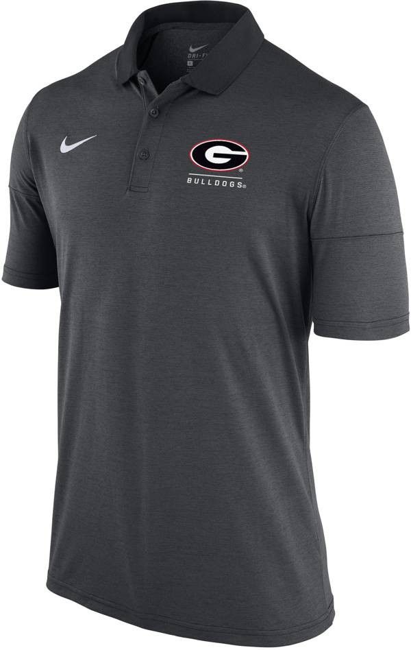 Nike Men's Georgia Bulldogs Grey Dry Lightweight Polo product image