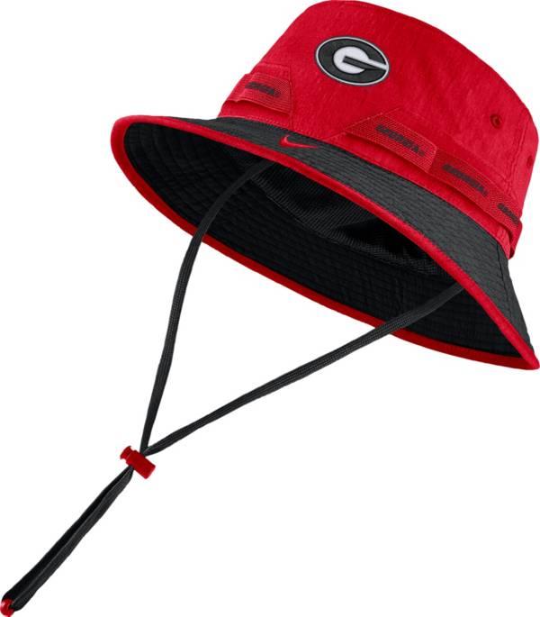 Nike Men's Georgia Bulldogs Red Dri-FIT Sideline Bucket Hat product image