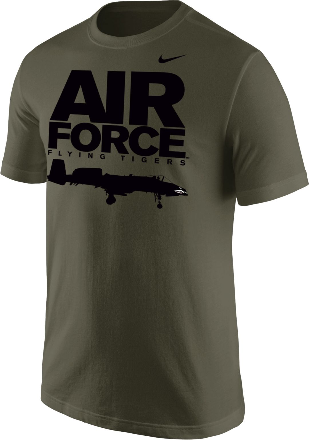 Nike Men's United States Air Force Green Fighter Jet T Shirt