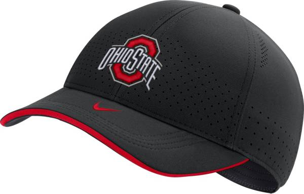 Nike Men's Ohio State Buckeyes AeroBill Classic99 Football Sideline Black Hat product image