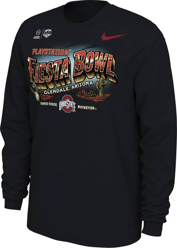 Nike Men's Ohio State Buckeyes 2019 PlayStation Fiesta Bowl Bound Long Sleeve T-Shirt product image