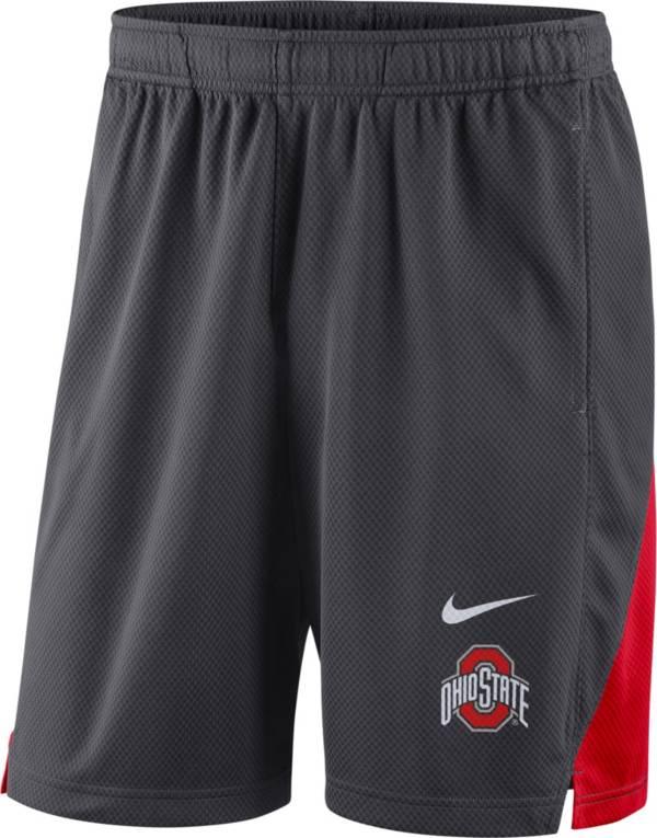 Nike Men's Ohio State Buckeyes Gray Franchise Shorts product image