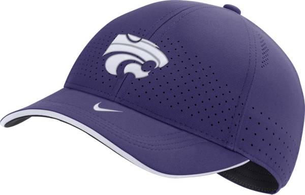 Nike Men's Kansas State Wildcats Purple AeroBill Classic99 Football Sideline Hat product image