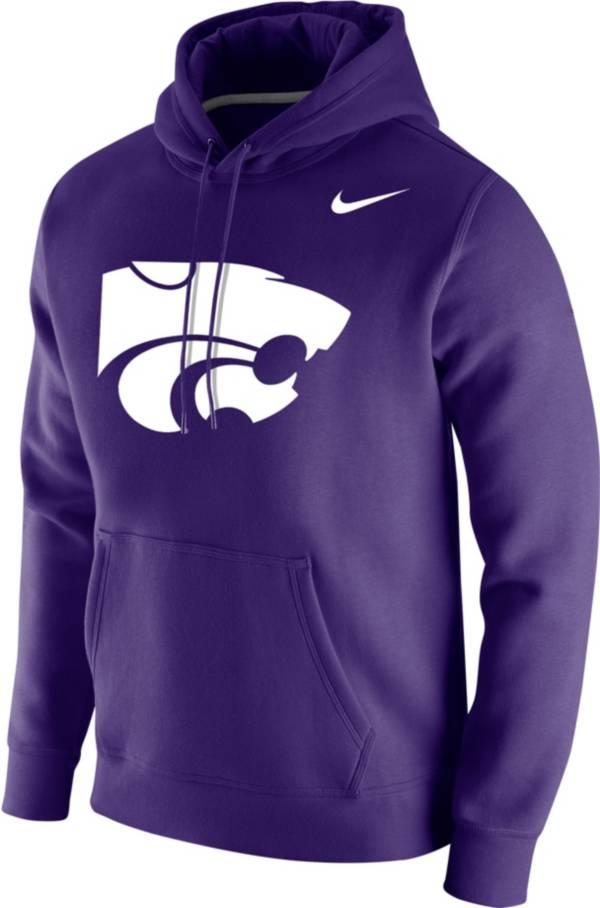 Nike Men's Kansas State Wildcats Purple Club Fleece Pullover Hoodie product image