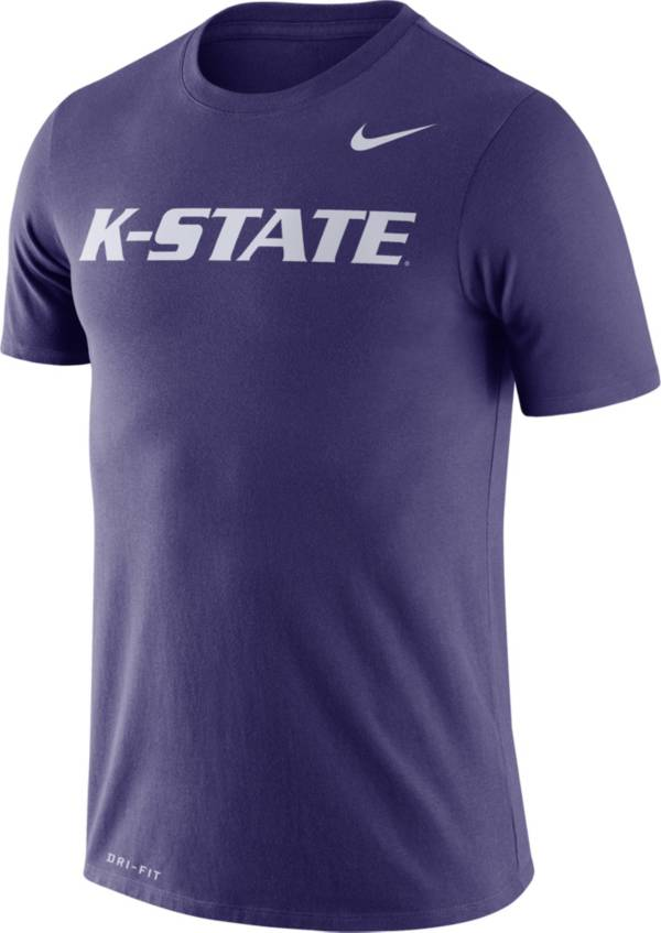 Nike Men's Kansas State Wildcats Purple Dri-FIT Legend Word T-Shirt product image