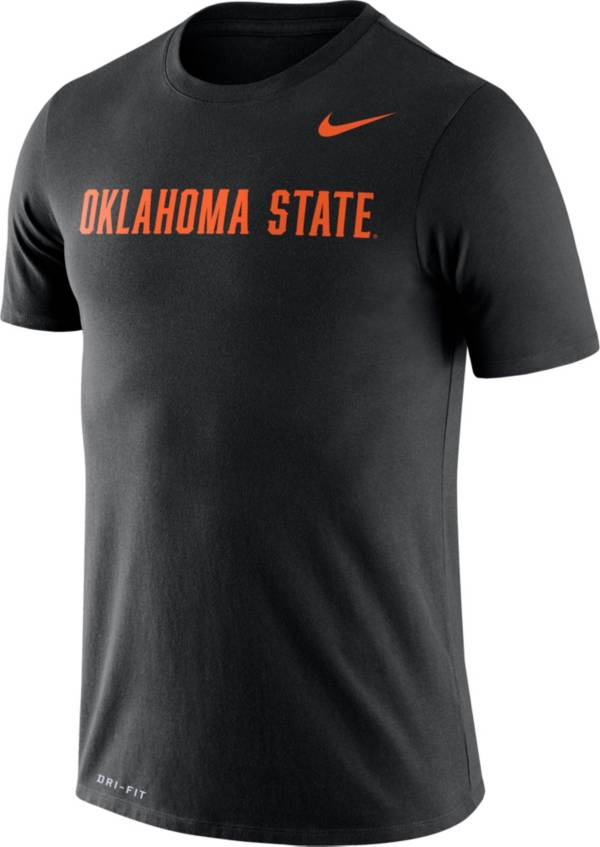 Nike Men's Oklahoma State Cowboys Black Dri-FIT Legend Word T-Shirt product image