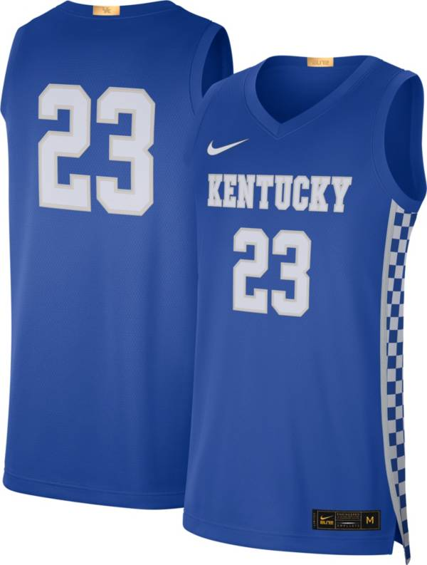 Nike Men's Kentucky Wildcats #23 Blue Limited Basketball Jersey product image