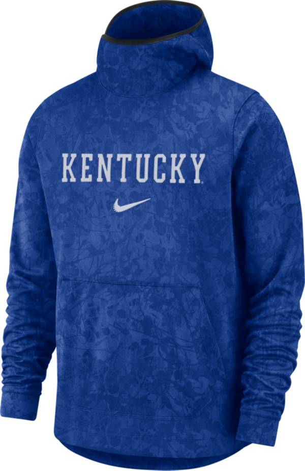 Nike Men's Kentucky Wildcats Blue Spotlight Pullover Basketball Hoodie product image