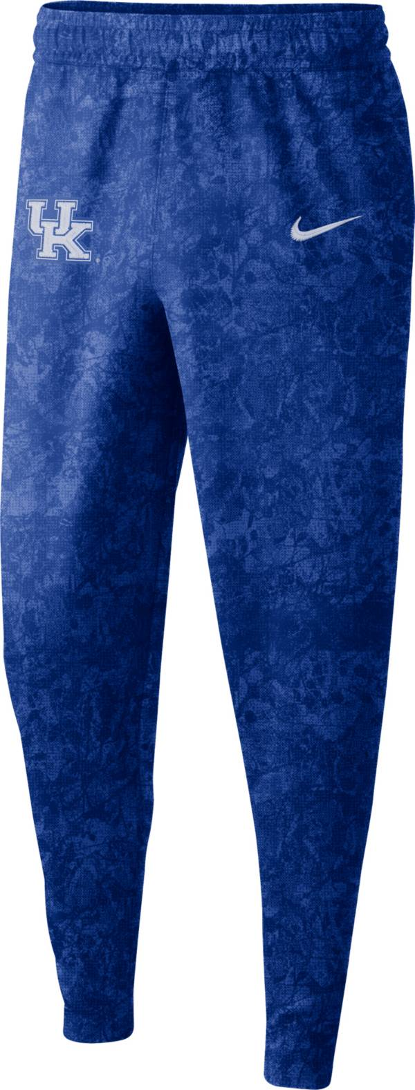Nike Men's Kentucky Wildcats Blue Dri-FIT Spotlight Basketball Fleece Pants product image