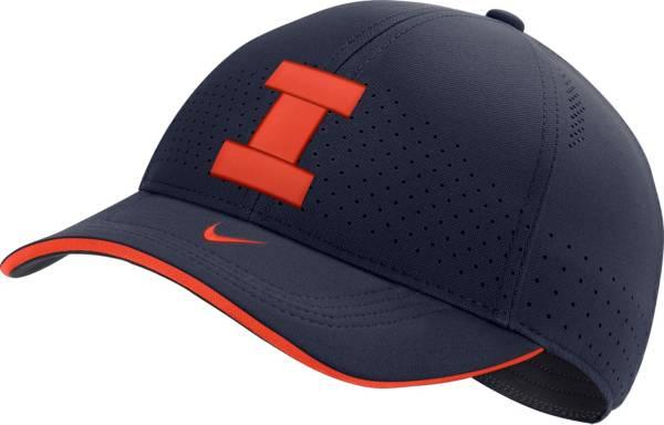Nike Men's Illinois Fighting Illini Blue AeroBill Classic99 Football Sideline Hat product image