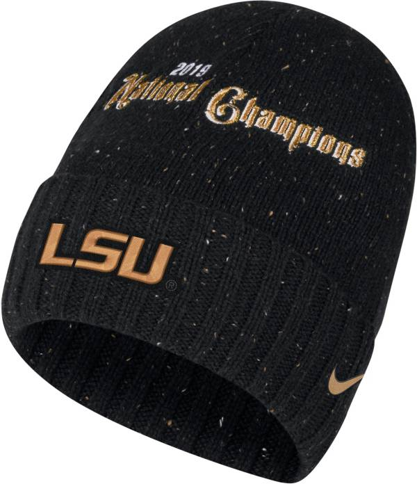 Nike Men's 2019 National Champions LSU Tigers Celebration Beanie product image