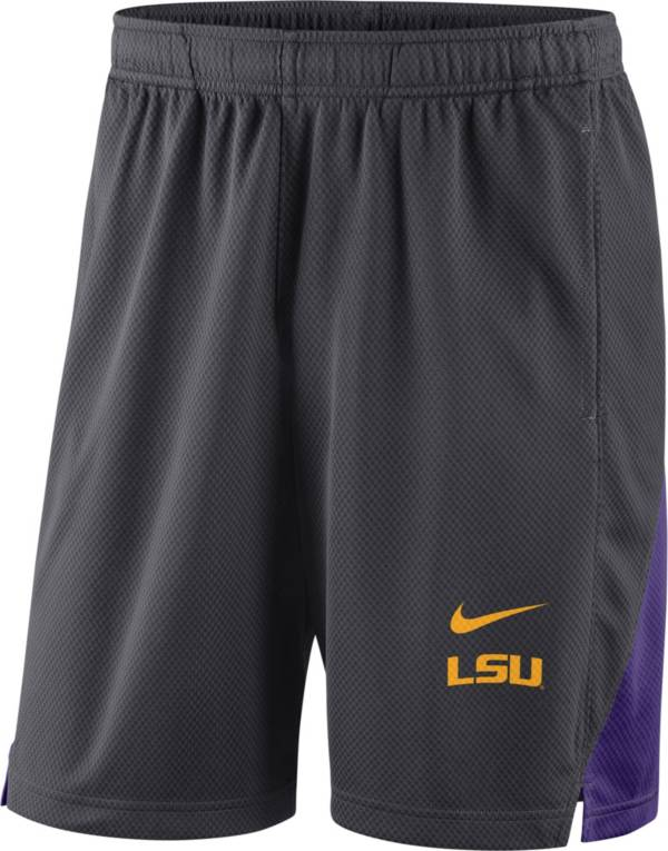 Nike Men's LSU Tigers Grey Franchise Shorts product image