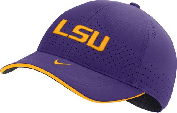 Nike Men's LSU Tigers Purple AeroBill Classic99 Football Sideline Hat product image