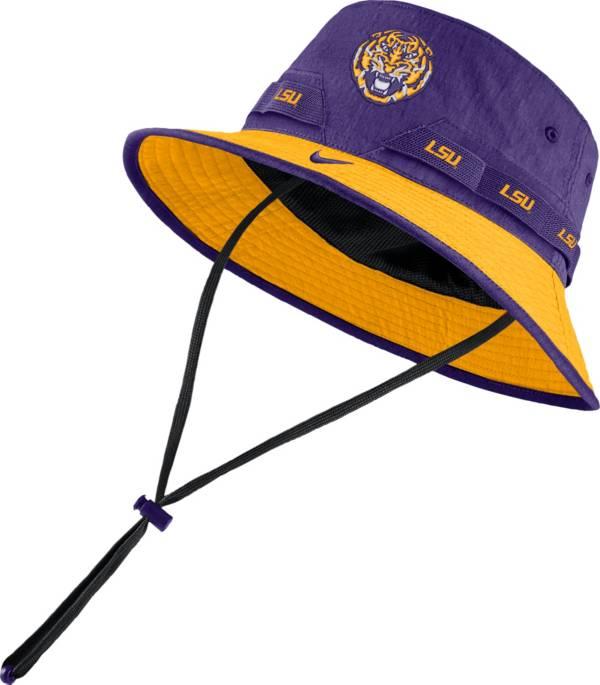 Nike Men's LSU Tigers Purple Dri-FIT Sideline Bucket Hat product image