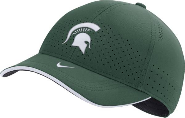 Nike Men's Michigan State Spartans Green AeroBill Classic99 Football Sideline Hat product image
