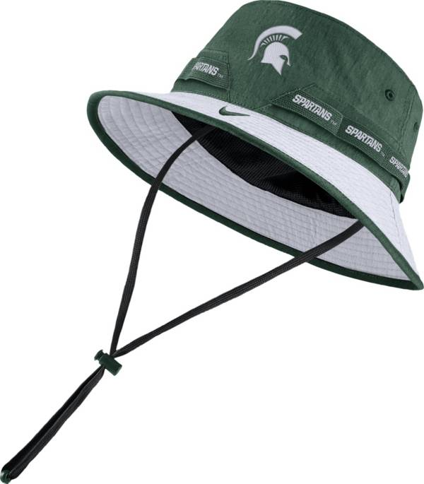 Nike Men's Michigan State Spartans Green Dri-FIT Sideline Bucket Hat product image